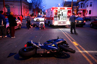04-19-09 - Paterson Motorcycle Accident - Union Blvd and Sheridan Ave